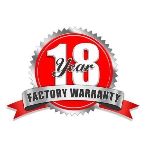 18 year warranty